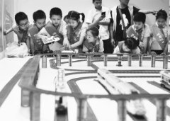 鄂尔多斯木工培训学校再谈50万块积木搭出迷你南京城