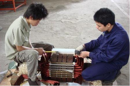 电机维修培训实战班