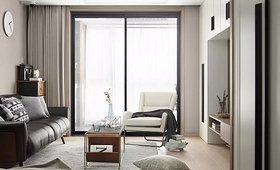 108㎡现代简约三居 装饰性与实用性兼得_找灵感